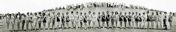 Wall Art - Photograph - 1927 California Swimsuit Contest  by Jon Neidert