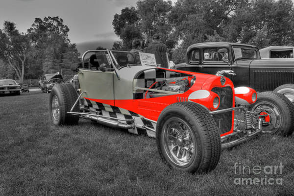 Photograph - 1927 Ford Roadster by Tony Baca