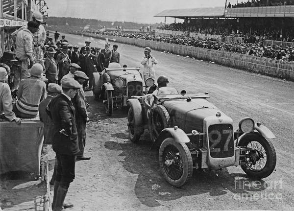 Lemans Wall Art - Photograph - 1928 24hr Lemans by Jon Neidert