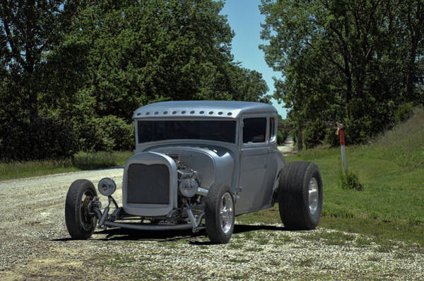 Photograph - 1928 Ford Coupe Hot Rod by Tim McCullough