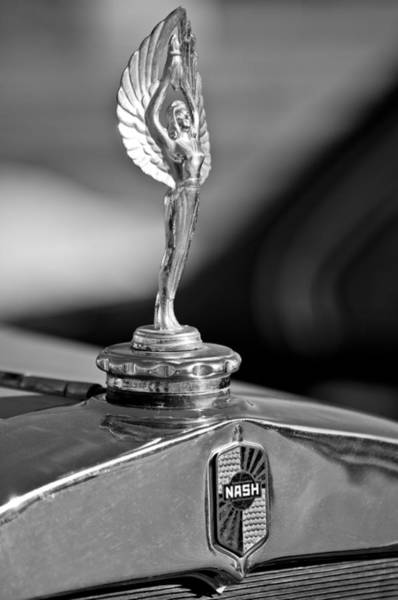 Photograph - 1928 Nash Aftermarket Hood Ornament by Jill Reger