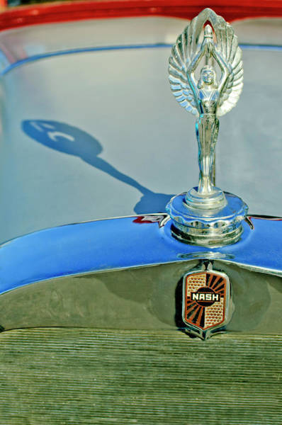Photograph - 1928 Nash Coupe Hood Ornament 3 by Jill Reger