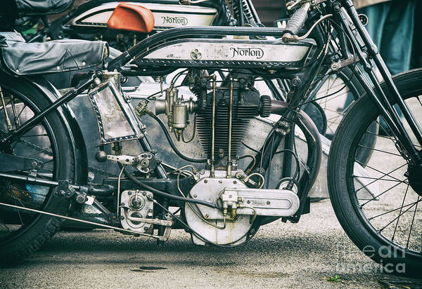 Photograph - 1928 Norton Lpd1 by Tim Gainey