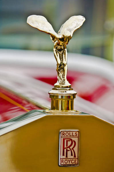 Photograph - 1928 Rolls-royce Phantom 1 Hood Ornament 3 by Jill Reger