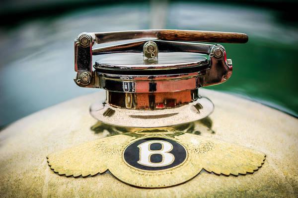 Photograph - 1929 Bentley 4.5-litre Open Tourer Hood Ornament by Jill Reger