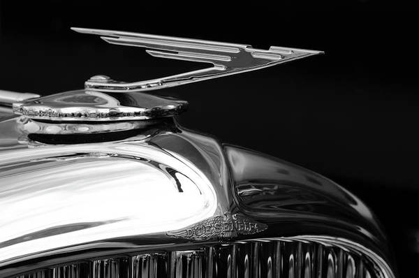 Hoodie Photograph - 1929 Duesenberg Model J Hood Ornament 2 by Jill Reger