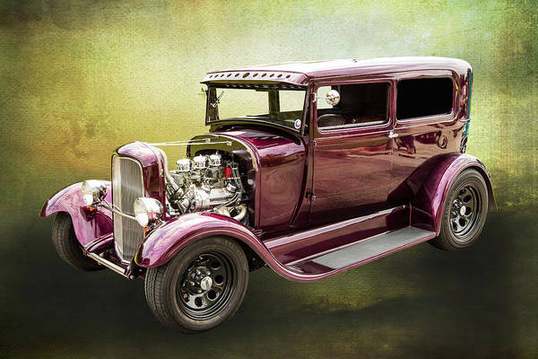Photograph - 1929 Ford Model A 5511.03 by M K Miller