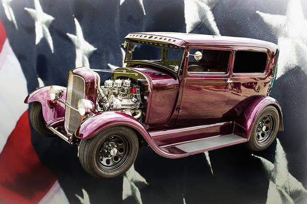 Photograph - 1929 Ford Model A 5511.04 by M K Miller