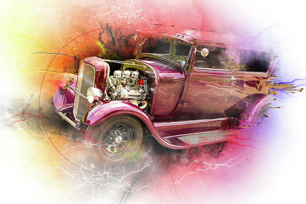 Photograph - 1929 Ford Model A 5511.05 by M K Miller
