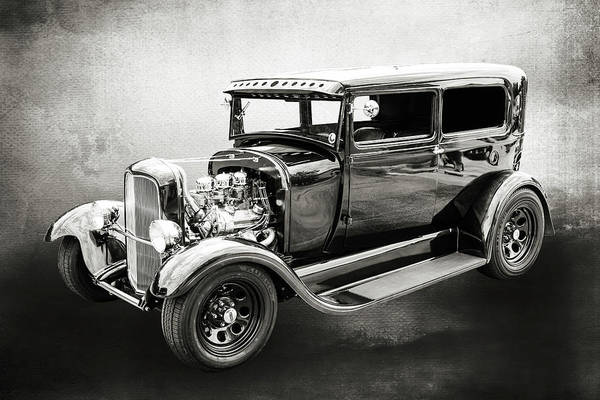 Photograph - 1929 Ford Model A 5511.52 by M K Miller