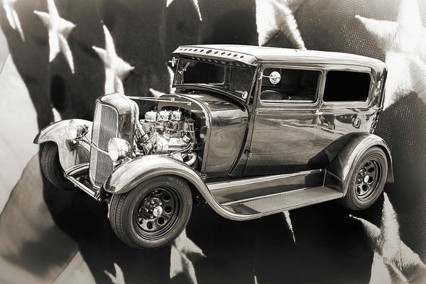 Photograph - 1929 Ford Model A 5511.53 by M K Miller