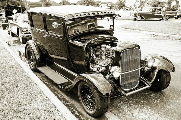 Photograph - 1929 Ford Model A 5511.58 by M K Miller