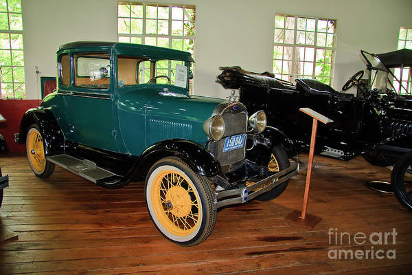 Photograph - 1929 Ford Model A by Jill Lang
