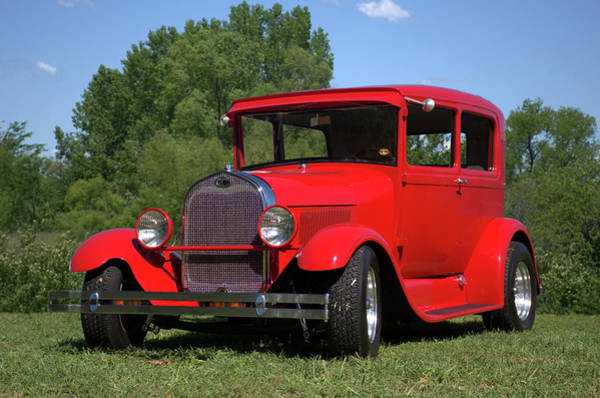 Photograph - 1929 Ford Sedan Hot Rod by Tim McCullough