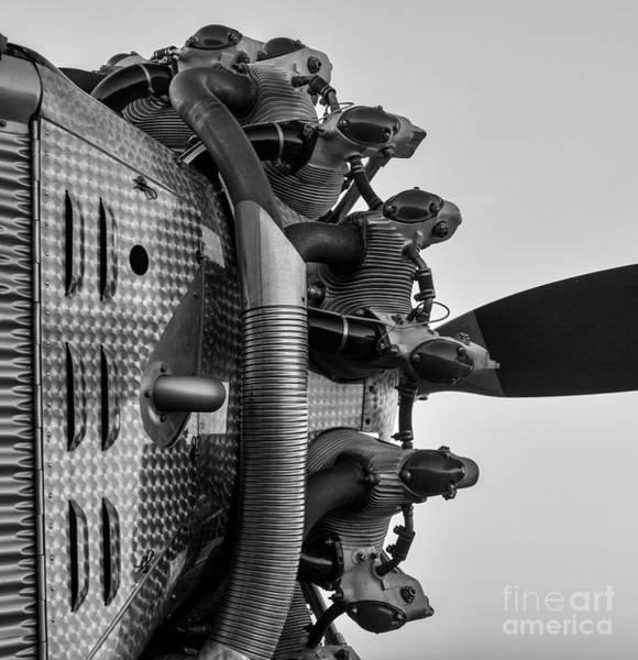 Radial Engine Photograph - 1929 Hamilton H-47 by Paul Quinn