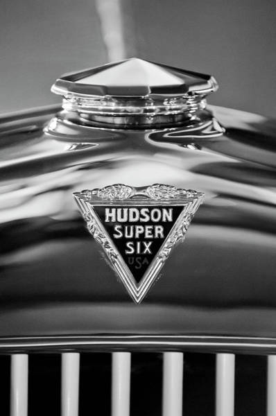 Hoodie Photograph - 1929 Hudson Cabriolet Hood Ornament 2 by Jill Reger