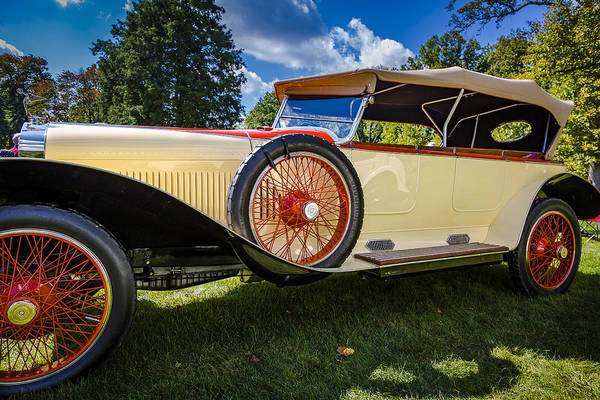 Photograph - 1929 Isotta Fraschini Tipo 8a by Jack R Perry
