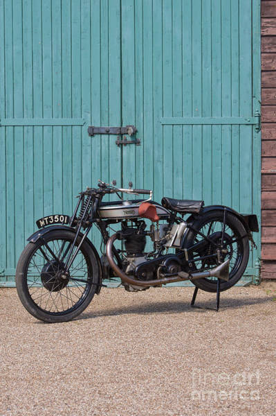 Photograph - 1929 Norton 490cc Model 18 by Tim Gainey
