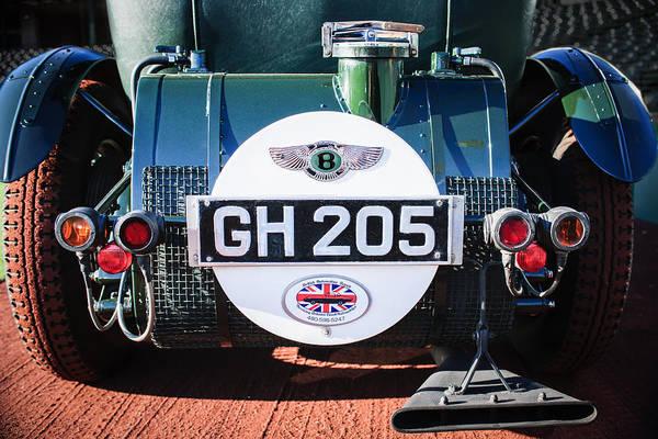 Photograph - 1930 Bentley Speed Six Taillights -0277c by Jill Reger