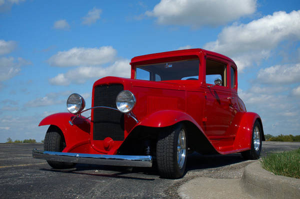 Photograph - 1930 Chevrolet Coupe Hot Rod by Tim McCullough