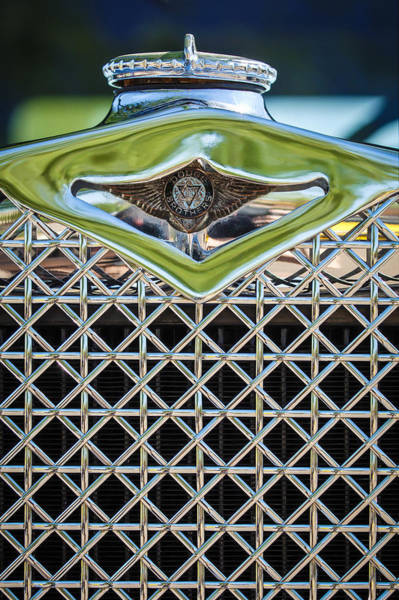 Photograph - 1930 Db Dodge Brothers Hood Ornament And Grille by Jill Reger