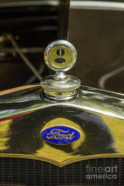 Photograph - 1930 Ford Model A Original Sedan 5538,08 by M K Miller