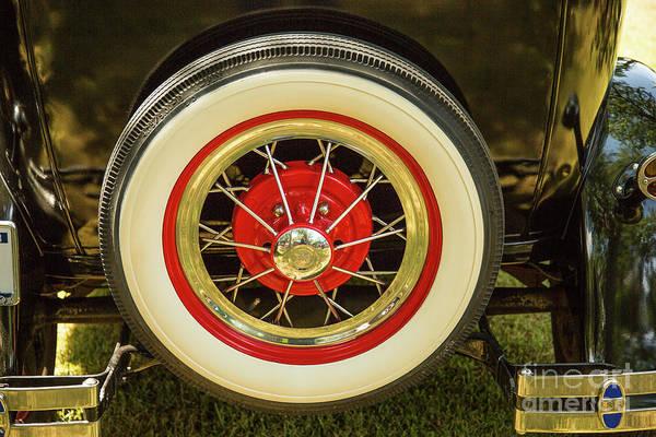Photograph - 1930 Ford Model A Original Sedan 5538,13 by M K Miller