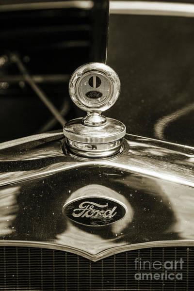 Photograph - 1930 Ford Model A Original Sedan 5538,19 by M K Miller