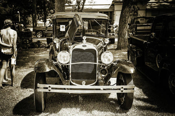 Photograph - 1930 Ford Model A Original Sedan 5538,21 by M K Miller