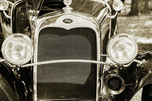 Photograph - 1930 Ford Model A Original Sedan 5538,22 by M K Miller