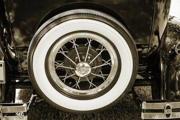 Photograph - 1930 Ford Model A Original Sedan 5538,24 by M K Miller