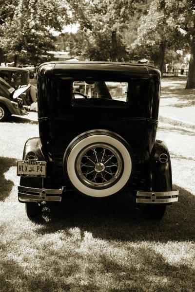 Photograph - 1930 Ford Model A Original Sedan 5538,26 by M K Miller