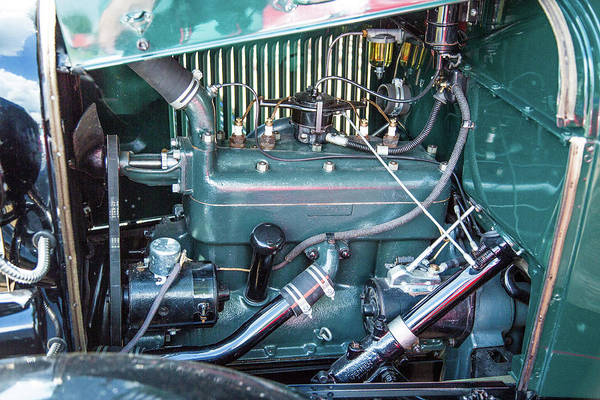 Photograph - 1930 Ford Stakebed Truck 5512.07 by M K Miller