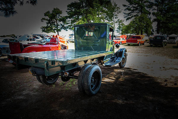 Photograph - 1930 Ford Stakebed Truck 5512.09 by M K Miller