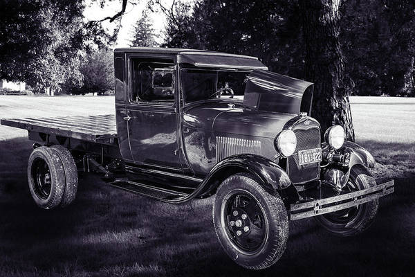 Photograph - 1930 Ford Stakebed Truck 5512.50 by M K Miller