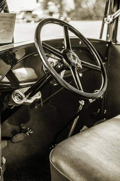 Photograph - 1930 Ford Stakebed Truck 5512.57 by M K Miller