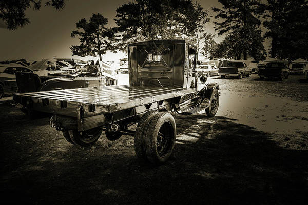 Photograph - 1930 Ford Stakebed Truck 5512.58 by M K Miller