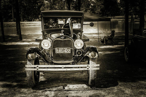 Photograph - 1930 Ford Stakebed Truck 5512.61 by M K Miller