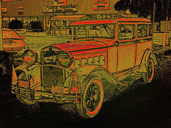 Digital Art - 1930 Hudson by Richard Farrington