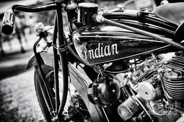 Photograph - 1930 Indian 101 Scout Motorcycle by Tim Gainey