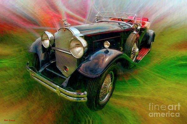 Photograph - 1930 Packard 745 Deluxe Eight Roadster by Blake Richards