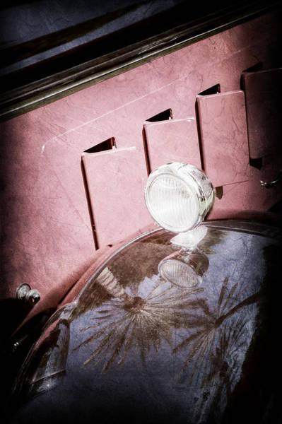 Wall Art - Photograph - 1930 Packard Fender Light -0139ac by Jill Reger