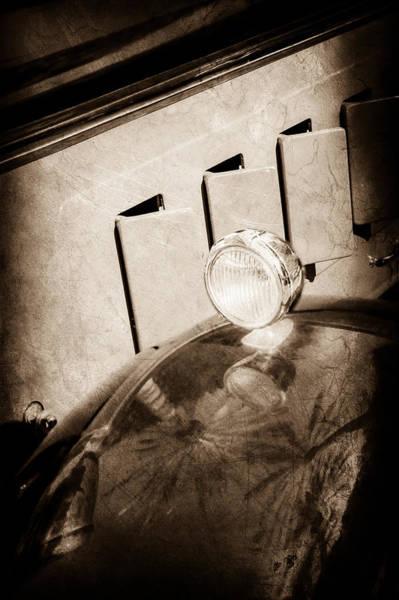 Wall Art - Photograph - 1930 Packard Fender Light -0139s by Jill Reger