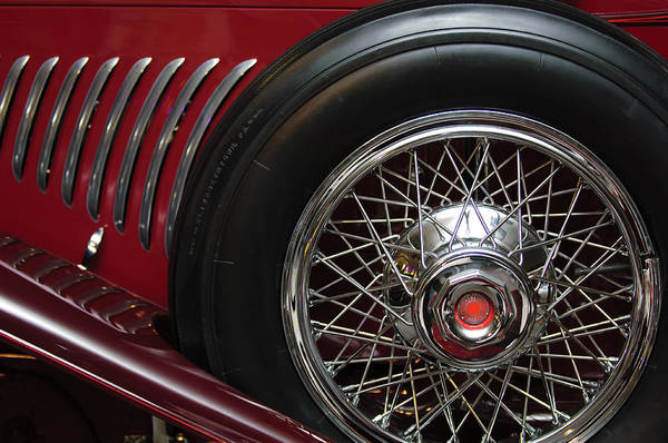 Photograph - 1931 Duesenberg Model J Spare Tire by Jill Reger