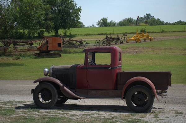 Photograph - 1931 Ford Model A Pickup by Tim McCullough