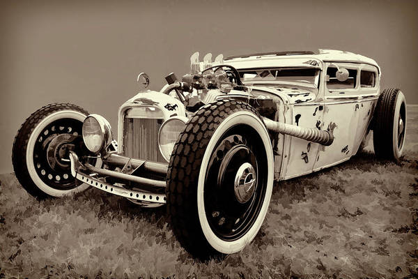 Awesome Show Digital Art - 1931 Ford Rat Rod by Timothy Rohman