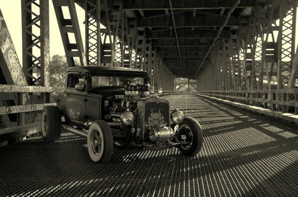 Photograph - 1931 Nash Coupe Rat Rod by Tim McCullough