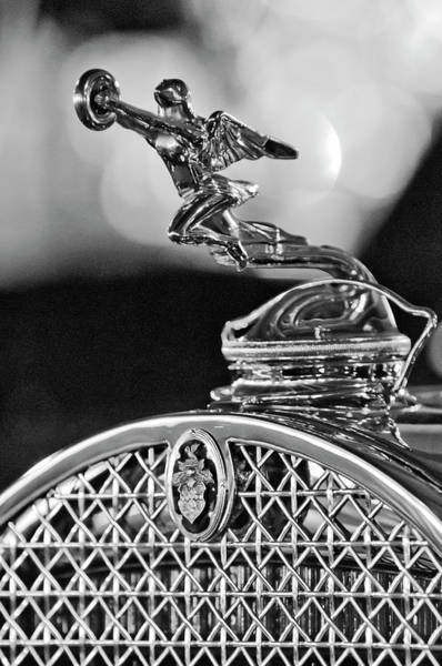 Hoodies Photograph - 1931 Packard Convertible Victoria Hood Ornament 2 by Jill Reger