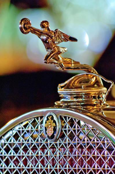 Photograph - 1931 Packard Convertible Victoria Hood Ornament by Jill Reger