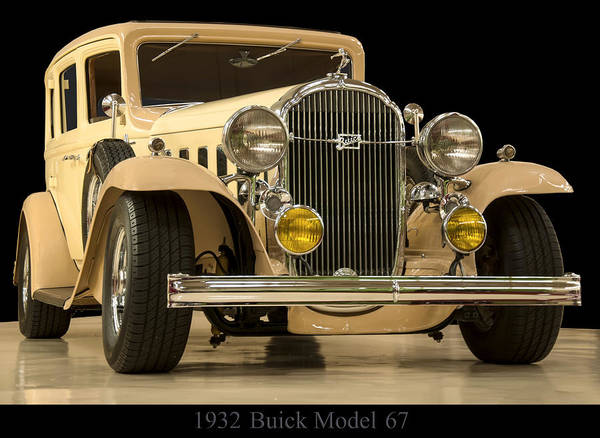 Photograph - 1932 Buick Model 67 by Chris Flees